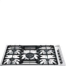 """90CM (approx. 35"""") """"Classic"""" Gas Cooktop Stainless Steel"""