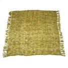 Shingle Yellow & Green Throw Product Image
