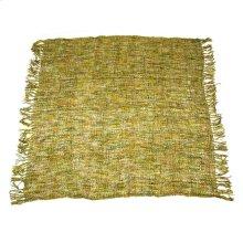 Shingle Yellow & Green Throw