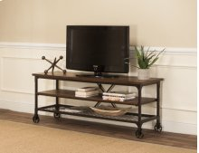 Sunset Trading Rustic Elm Industrial Entertainment Center