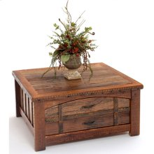 Heritage Sawtooth 2 Drawer Coffee Table With Curved Drawer Fronts