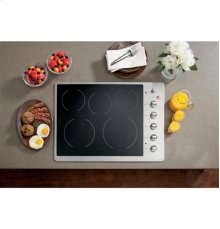 """GE Cafe™ Series 30"""" Built-In Electric Cooktop"""