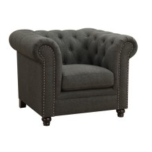 Roy Traditional Grey Chair
