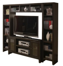 """Essentials Lifestyle 55"""" Console with Doors"""