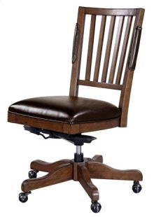 Office Collection Chair Oxford Whiskey Brown