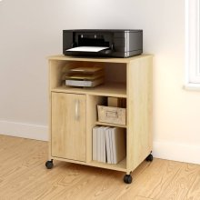 Printer Cart - Natural Maple