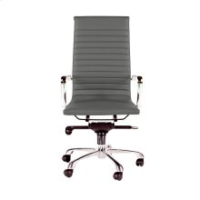 Omega Office Chair High Back Grey-M2