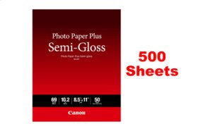 Canon Photo Paper Plus Semi-gloss SG-201 LTR - 500 Sheets