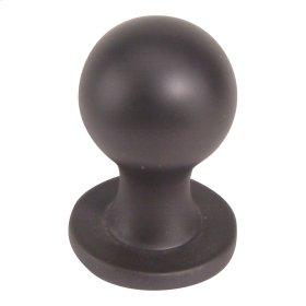 Nipple Knob 3/4 Inch - Aged Bronze