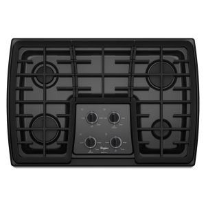 Gold(R) 30-inch Gas Cooktop with 17,000 BTU Power Burner - BLACK