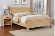 Alstad Bed - Queen, Natural Finish