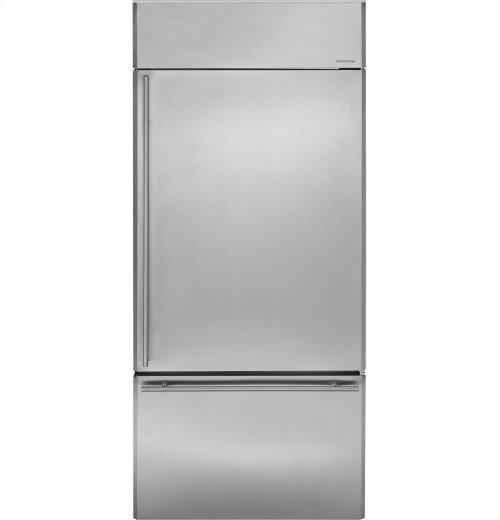 "Monogram 36"" Built-In Bottom-Freezer Refrigerator"
