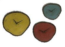 Morgan Wall Clocks - Set of 3