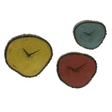 Morgan Wall Clocks - Set of 3