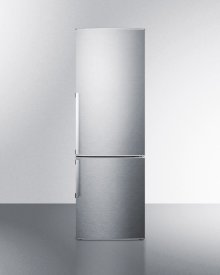 Energy Star Qualified Counter Depth Bottom Freezer Refrigerator With Large Capacity, Deluxe Interior, and Stainless Steel Doors; Replaces Ffbf245ss