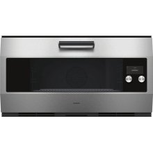 "Single Oven Stainless steel Width 36"" (90 cm)"