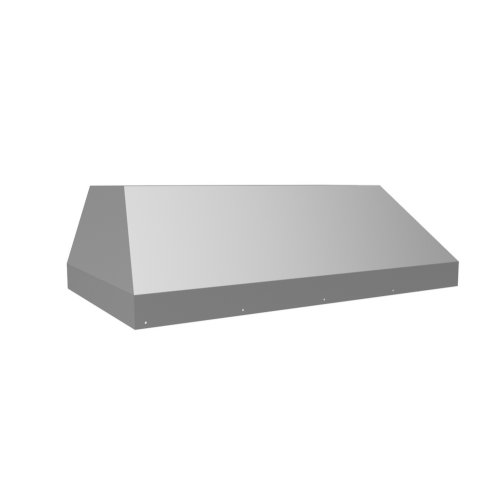 "58 3/8"" 1200 CFM Wall Mount Liner Insert Stainless Steel"