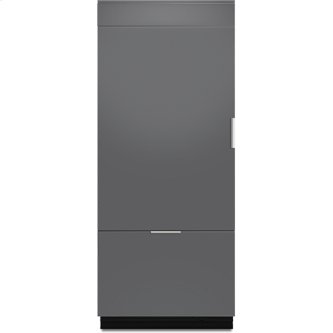 "Jenn-Air(R) 36"" Fully Integrated Built-In Bottom-Freezer Refrigerator (Left-Hand Door Swing), Panel Ready"