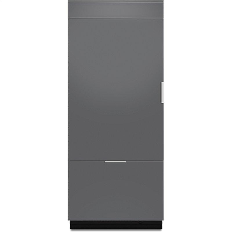Jenn Air 36 Fully Integrated Built In Bottom Freezer Refrigerator