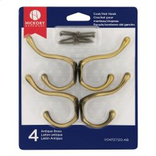 Double Utility Hook (4-Pack)