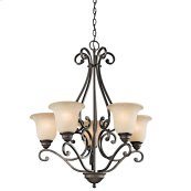 Camerena 5 Light Up Chandelier Olde Bronze®