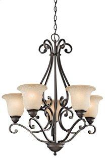 Camerena 5 Light Up Chandelier Olde Bronze®