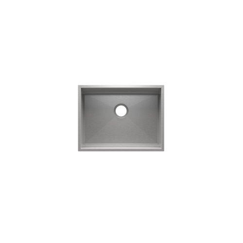 "SmartStation® 005408 - undermount stainless steel Kitchen sink , 24"" × 18 1/8"" × 10"" (Maple)"