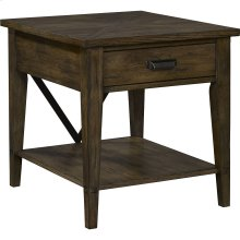 Creedmoor Drawer End Table