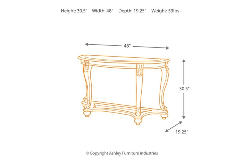 T4994 In By Ashley Furniture In Orange Ca Sofa Table