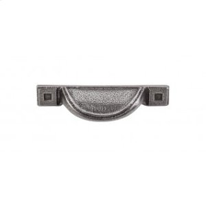 Inset Cup Pull 2 1/2 Inch (c-c) - Cast Iron