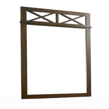 "Landon ""Antique Walnut"" Mirror"