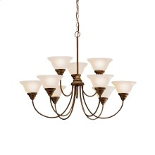 Telford Collection Telford 9 Light 2 Tiered Chandelier - OZ