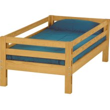 Twin upper bed