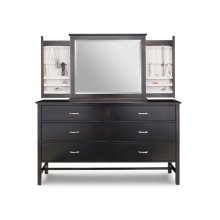 Brooklyn 6 Deep Drawer Long Dresser