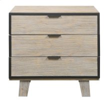 Emerald Home Synchrony 3 Drawer Nightstand Washed Linen B112-04