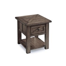 Rectangular End Table - Floor Model