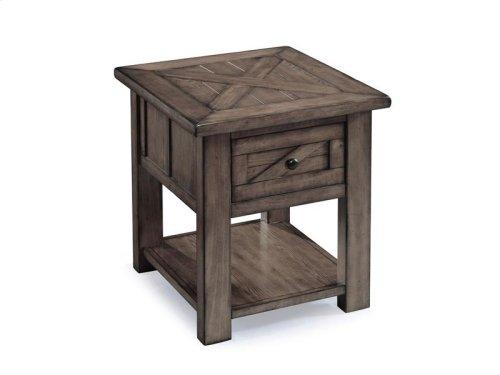 Rectangular End Table - Floor Model