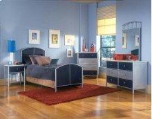 Brayden 5pc Mesh Full Bedroom Suite