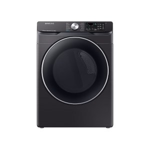Samsung7.5 cu. ft. Smart Gas Dryer with Steam Sanitize+ in Black Stainless Steel