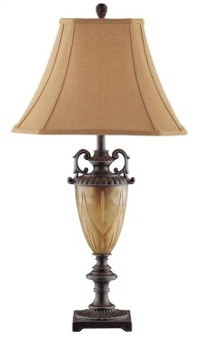 2pk Golden Urn Table Lamp / Night Light