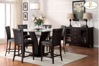 Daisy Counter Height Chair Dark Brown