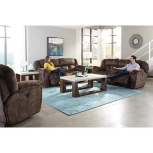 Reclining Power gliding Loveseat