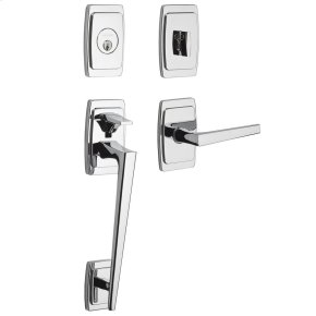 Polished Chrome Palm Springs Sectional Handleset