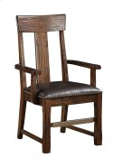 Emerald Home Ashland Splat Back Arm Chair Brown D349-21 Product Image
