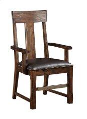 Emerald Home Ashland Splat Back Arm Chair Brown D349-21