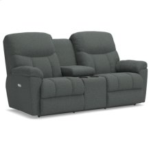 Morrison PowerRecline La-Z-Time® Full Reclining Loveseat w/ Console