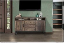 "60"" TV Stand w/3 Drawer, 2 Door"