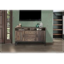 """60"""" TV Stand w/3 Drawer, 2 Door"""