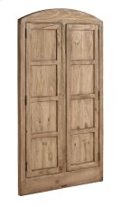 Wheat Eased Arched Double Door Window Casing Product Image