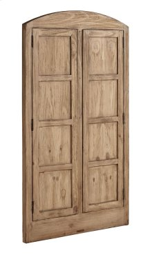 Wheat Eased Arched Double Door Window Casing